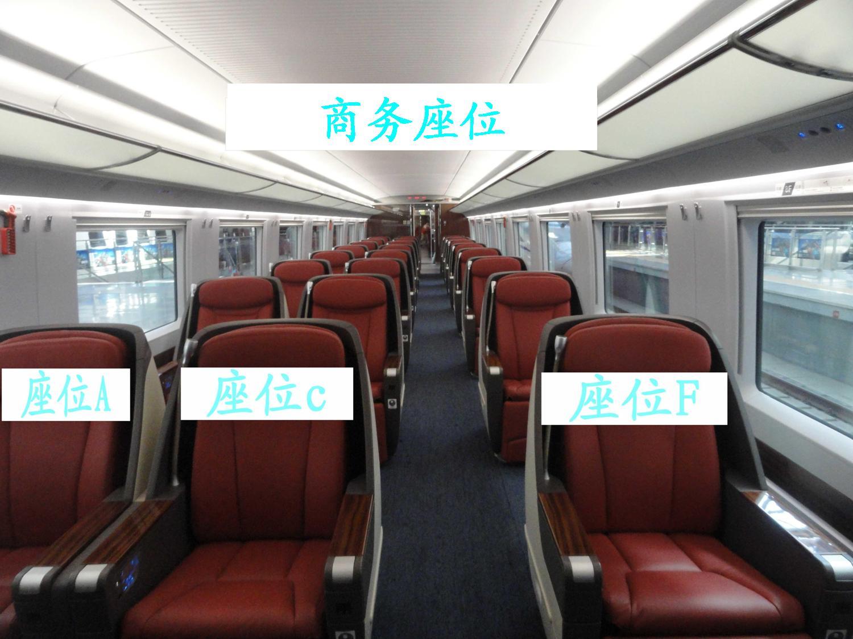 最新高铁 动车及普快火车座位分布图